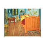Bedroom in Arles Stretched Canvas Print