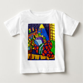 Bedroom in Color Baby T-Shirt