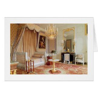 Bedroom in the Grand Trianon (photo) Card