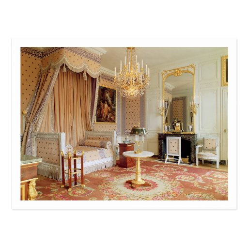 Bedroom in the Grand Trianon (photo) Post Cards