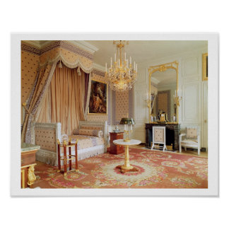 Bedroom in the Grand Trianon (photo) Poster
