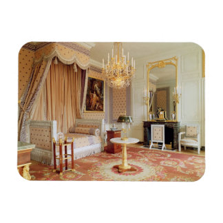 Bedroom in the Grand Trianon (photo) Rectangular Photo Magnet