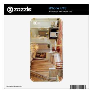 Bedroom in the Grand Trianon (photo) Skin For The iPhone 4S