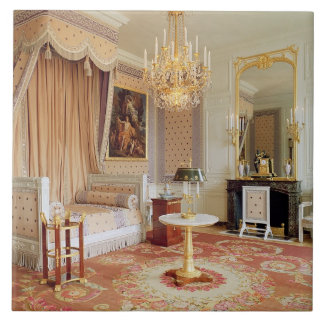 Bedroom in the Grand Trianon (photo) Large Square Tile