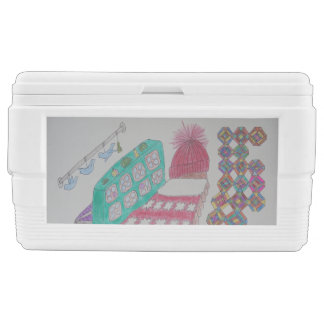Bedroom mitten chest cooler