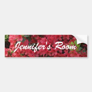 bedroom name sticker