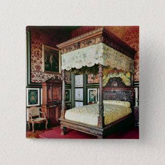 Bedroom of Henri II  and Diane de Poitiers Pinback Button