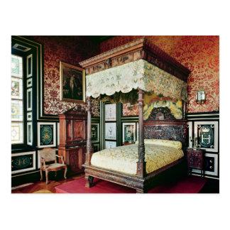 Bedroom of Henri II  and Diane de Poitiers Postcard