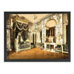 Bedroom of Napoleon I, Fontainebleau Palace, Franc Post Card