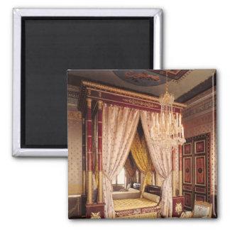 Bedroom of Queen Hortense de Beauharnais Refrigerator Magnet