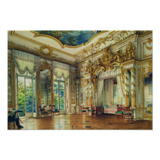 Bedroom of Tsar Alexander I Poster
