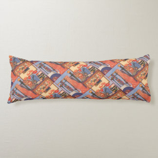 Bedroom Scene Body Pillow