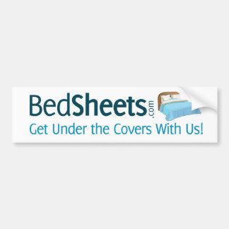 BedSheets - bajo cubiertas con nosotros pegatina p Pegatina Para Auto