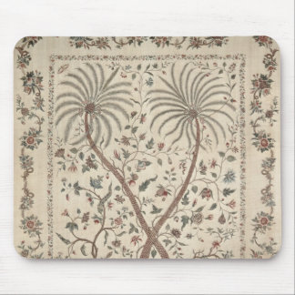 Bedspread with Palm Tree Motifs Mouse Pad