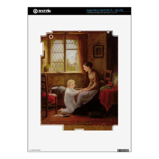 Bedtime, 1890 (oil on panel) iPad 3 decals