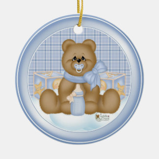 Bedtime Baby Ornament Gift Tag