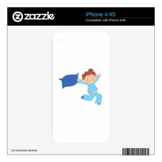 Bedtime Boy Skins For The iPhone 4