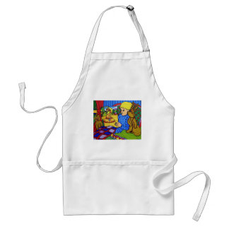 Bedtime by Piliero Adult Apron