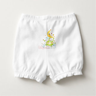 Bedtime Frog Personalized Diaper Cover