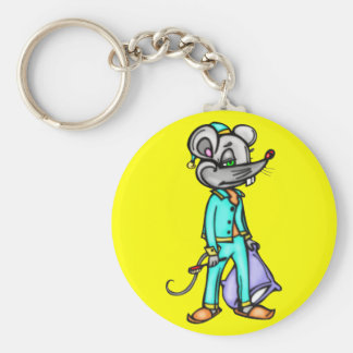 Bedtime Mouse Key Chain