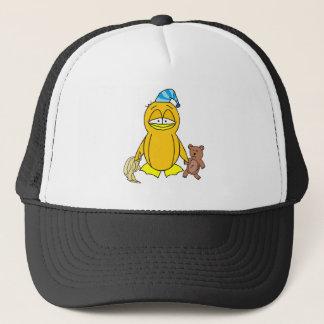 Bedtime Penguin Trucker Hat