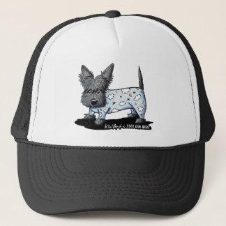 Bedtime PJs Scottie Trucker Hat