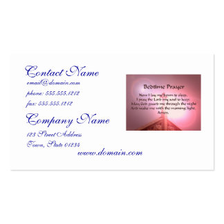 Bedtime Prayer Business Cards