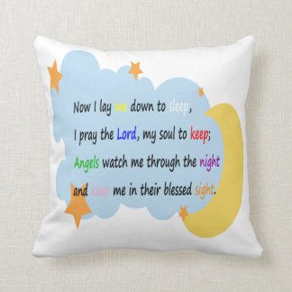 Bedtime Prayer Pillow (Boys)