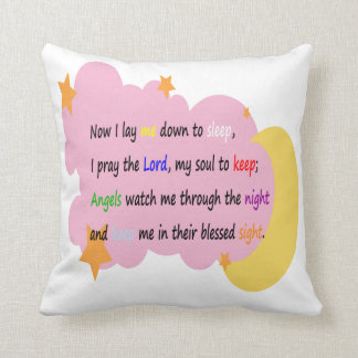 Bedtime Prayer Pillow (Girls)