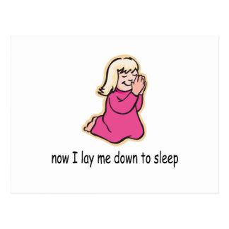 Bedtime Prayers Postcard