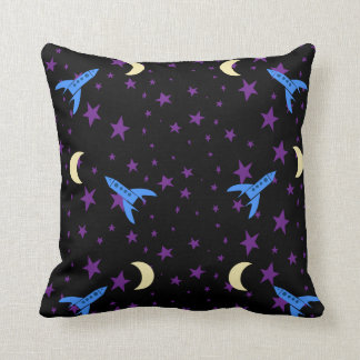 Bedtime Rocket Pillow