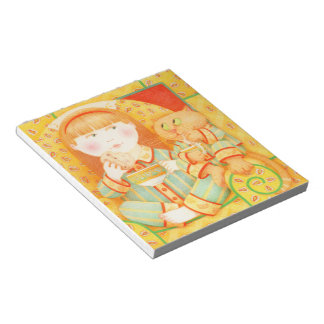 """Bedtime Snack 5.5"""" x 6"""" Notepad"""