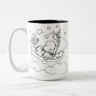 Bedtime Stories Two-Tone Coffee Mug