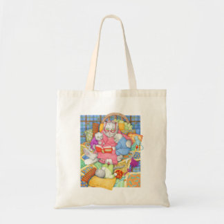 Bedtime Story Budget Tote Bags
