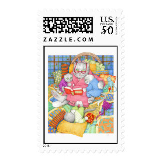 Bedtime Story Postage Stamps
