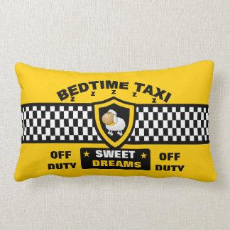 Bedtime Taxi Throw Pillows