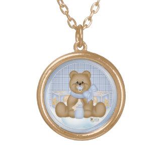 Bedtime Teddy Necklace