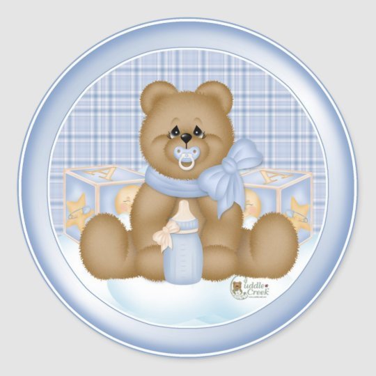 Bedtime Teddybear Sticker