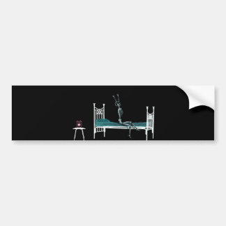 Bedtime X-Ray Skeleton Original Bumper Sticker