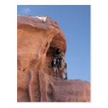Beduino en el Petra Tarjetas Postales