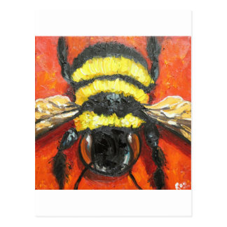Bee#192-12x12sc Postcard