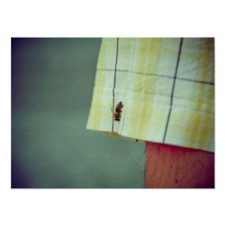 Bee 6.5x8.75 Paper Invitation Card