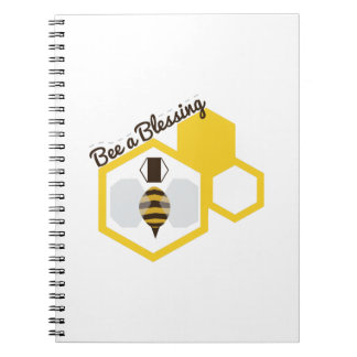 Bee A Blessing Spiral Notebooks