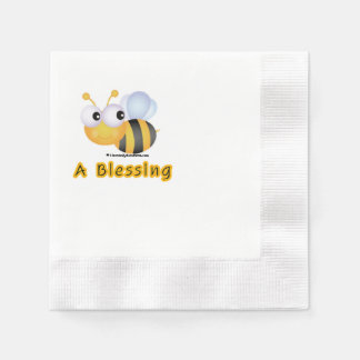 BEE A Blessing Paper Napkin