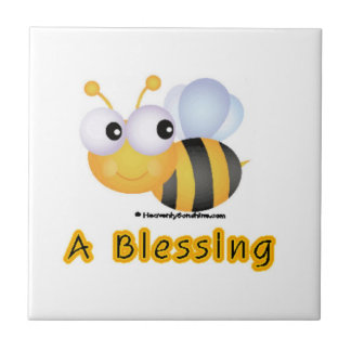 Bee A Blessing Small Square Tile