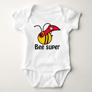 Bee a superhero! baby bodysuit