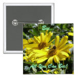 Bee, All You Can Bee! 2 Inch Square Button