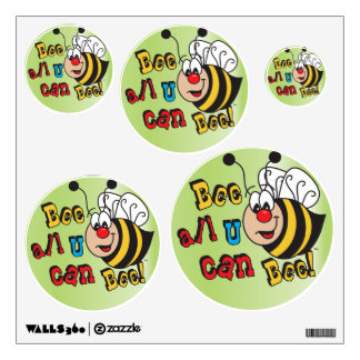 Bee All You Can Bee Wall Decals
