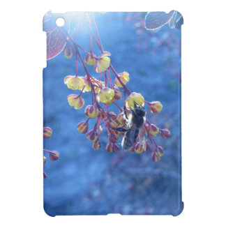 Bee and Berberis Flowers Photo iPad Mini Case