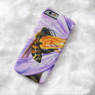 Bee and Crocus Art iPhone 6 Barely There Case
